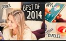 BEST of 2014 FAVORITES & Mini House Tour! || Apps, Books, Candles & MORE! || #Lovesof2014