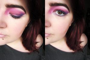Violent Pink.