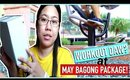VLOG | WORKOUT DAW + MAY BAGONG PACKAGE (April 30 & May 18, 2017)