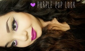 Purple Pop Look