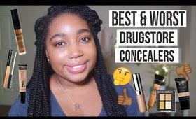 Best & Worst Drugstore Concealers for WOC + OPEN GIVEAWAY | Jessica Chanell