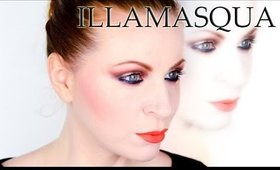 Coppery Eyes and Orange Matte Lips inspired by Illamasqua