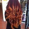Dip Dye Curls