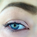 naked eye and sculpted brow