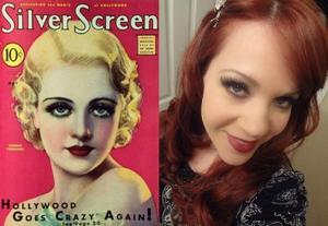 1930's Inspired makeup using Urban Decay Naked2 Palette :-)