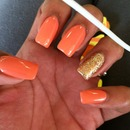 OPI Mango Summer Time Nails