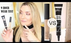 NARS RADIANT CREAMY CONCEALER VS IT COSMETICS BYE BYE UNDER EYE