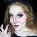 Kitty Cat Halloween Makeup