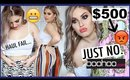 $500 BOOHOO TRY ON HAUL 😡 This Didn't Go Well.... 😅