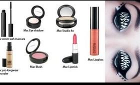 MAC Starter Kit Giveaway Open Internationally + Zebra Eye Makeup