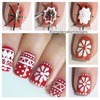 Holiday Sweater Nail Art Tutorial
