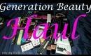 Generation Beauty Haul Pt. 2