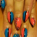 leopard by SauceC Nailz