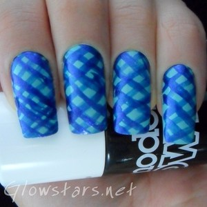A bit of a disaster. To find out why I think that, please visit http://glowstars.net/lacquer-obsession/2012/09/the-digit-al-dozen-blues-cross-hatched-fail