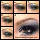 Pictorial for today's smokey eye