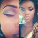 False eyeliner
