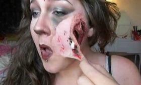 Removing SFX makeup !