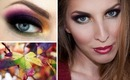Awesome Autumn Makeup Series - Changing Leaves Inspired Makeup