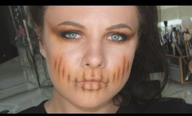 Easiest Halloween Makeup | Danielle Scott