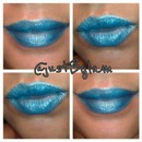 Electric Blue Lips