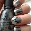 Gunmetal And Silver