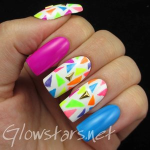 Read the blog post at http://glowstars.net/lacquer-obsession/2015/05/the-digit-al-dozen-does-geometric-80s-neon/