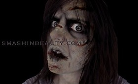 The Exorcist Makeup Halloween Tutorial 2012