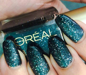 For more details visit http://lovefornailpolish.com/loreal-glitter-nail-polish-hidden-gems-swatches-and-review