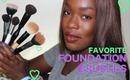 My Favorite Foundation Brushes + Foundation TIPS!