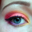Fireworks/Bonfire Night Makeup w/o flash