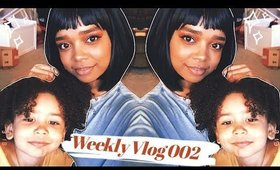 cleaning my space to relieve some anxiety amidst the chaos... | weekly vlog 002