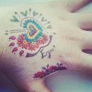 Colourful Henna