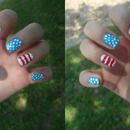 July 4th nails