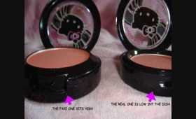 FAKE MAC HELLO KITTY BLUSH