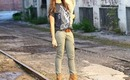 Skinny Cargo Pants - Fashion Styling