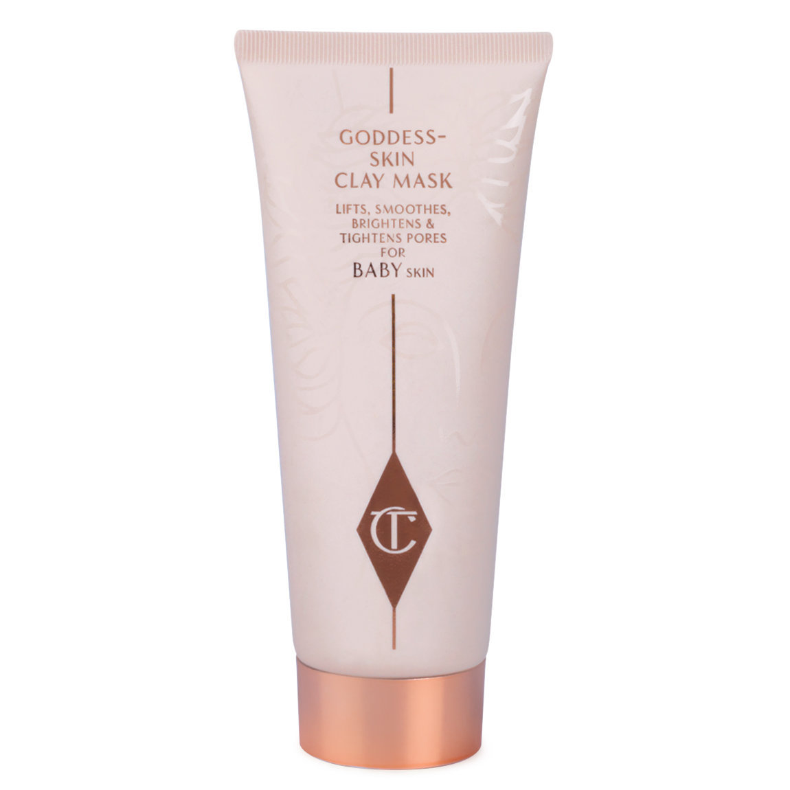 Charlotte Tilbury Goddess Skin Clay Mask product smear.