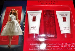Body lotion, perfume and shower gel