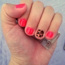 Neon pink and leopard print :)