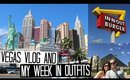 Las Vegas Vlog & My Week in Outfits