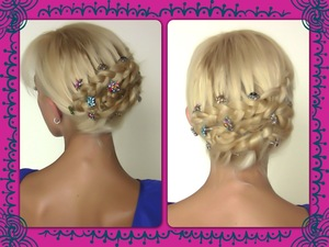 Lear how to recreate this beautiful hairstyle here http://youtu.be/k0Gn0OCPDRY