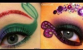 Disney: Ariel vs. Ursula makeup tutorial