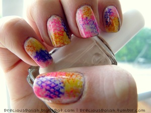 check out my videos to get this snakeskin look on your own nails!