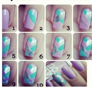 Love these nails! They're super easy too!