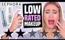 I Bought LOW RATED Makeup from Sephora || What (Some) GARBAGE & MISLEADING Makeup Looks Like...