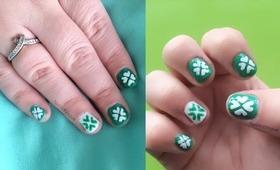 NAV   St Patrick's Day Nail Art