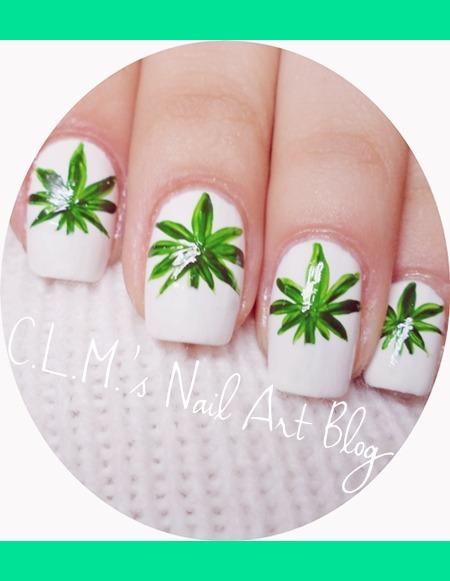 Weed Nail Art Monica Ls Laviniamonica Photo Beautylish