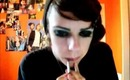 """""""Emo"""" Eyes and Lips"""