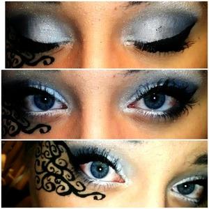 Funky eye patterns