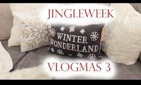 Jingle Week VLOGMAS 3: DVF Interview, Job Update, & First Xmas Tree  | MsLaBelleMel