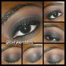 Black Smokey Eye